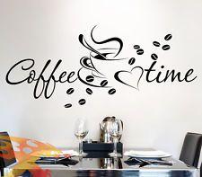 Awesome Wandtattoo Wandaufkleber Kaffee Coffee K che Tasse Kaffeebohnen W