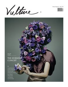 Vulture magazine very floral new cover starring Tye Sokkuan clad in Burberry beautifully shot for issue 4 by Lester Lai with CK Koo's styling.