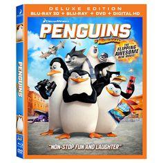 Penguins of Madagascar (3D/2D) (Blu-ray/DVD) (Includes Digital Copy) (W)