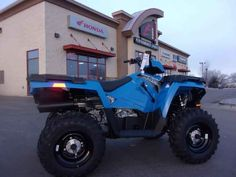 New 2017 Polaris Sportsman 450 H.O. Velocity Blue ATVs For Sale in Oregon.