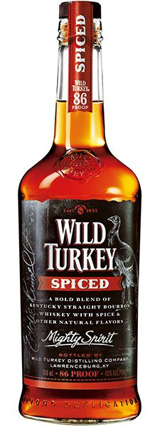 Wild Turkey Spiced Whiskey is perfect solo or as an 86-proof spike to cola. Notes of vanilla, caramel, and cloves really make it stand out. It's island-inspired, but Kentucky where it counts.  – Distiller's notes