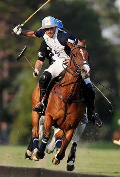 Polo - Adolfo Cambiaso. Aaaaamazing player. Such a joy to watch.