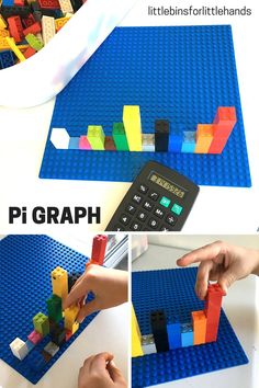 For visual learners and budding engineers, try graphing Pi using LEGOs.