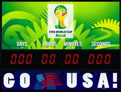 Countdown to FIFA World Cup Brasil