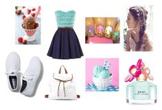 """Ice Cream Date"" by cassi-guinn on Polyvore"
