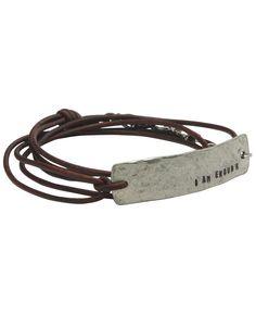 http://www.buddhagroove.com/i-am-enough-inspirational-leather-wrap-bracelet/