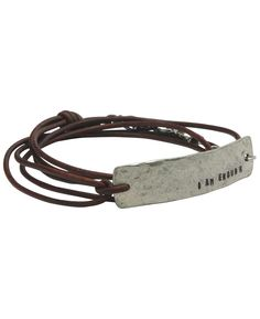 http://www.buddhagroove.com/i-am-enough-inspirational-leather-wrap-bracelet/