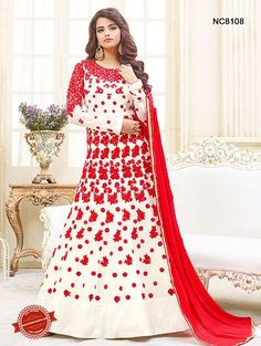 3a2d648201e Latest Anarkali Suits Designs Images 2018 for Women Off White Designer