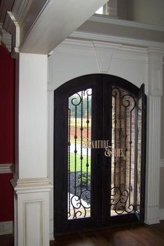 really love this style of door where you can open glass for fresh air but still have total security