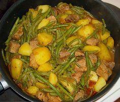 Gulasch mit grünen Bohnen und Kartoffeln (Rezept mit Bild)   Chefkoch.de