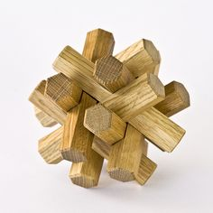 Japanese Wooden Puzzle. Nervous clients appreciate something to occupy their time while they wait for their appointments with you.  How about a puzzle?