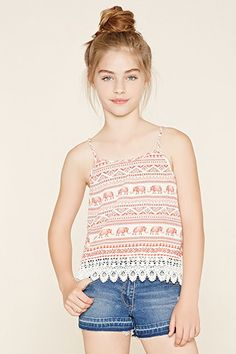 Girls Elephant Cami (Kids)