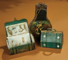 Bread and Roses - Auction - July 26, 2016: Lot #72 19th Century French Poupee Accessories