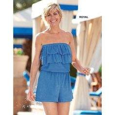 Terry Romper in Women's Summer 2013 from Blair on shop.CatalogSpree.com, my personal digital mall.