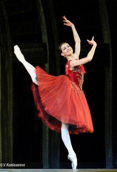 Alexandra Timofeeva in La Esmeralda (Kremlin Ballet). Photo by Valeria Komissarova
