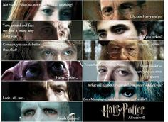 Last words of Harry Potter characters