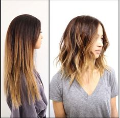 The Best of Instagram: 29 Gorgeous Hairstyles: Beachy Lobs: Casual, Cool and Sooooo 2015
