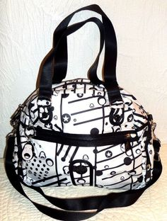 Kipling Travel HB4135 Grilla Girlz Print Duffel Weekender Bag Monkey Mania Print #Kipling #Duffel