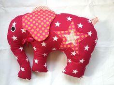 Kissen-Elefanten... Perfekt für kleine Kinder als Einschlafshilfe.