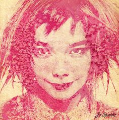 Bjork by Jc-Sparkz on DeviantArt Bjork, Colorful Artwork, Traditional Art, Watercolor Paintings, Portraits, Deviantart, Dinner, Frida Kahlo, Dibujo