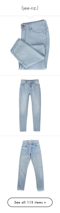 caa6dcf9 ... featuring men's fashion, men's clothing, men's jeans, jeans, pants,  bottoms, clothes - pants, filler, mens ripped skinny jeans and mens denim  jeans