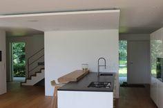 Einfamilienhaus in Prien am Chiemsee : Moderne Küchen von Architekt Namberger