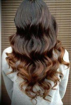 Big curls that make a hair statement!