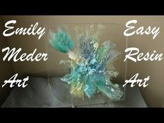 Resin Art Technique, Resin Casting in a Cake Mold! DIY Easy Art! - YouTube