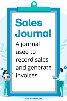 Sales Journal: A Journal used to record sales and generate invoices. Free Accounting Software, Accounting Classes, Accounting Basics, Accounting Course, Accounting Books, Accounting Principles, Accounting Student, Bookkeeping And Accounting, Bookkeeping Business