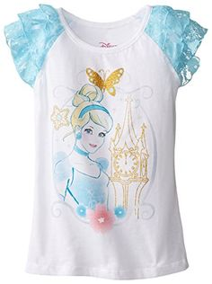 Disney Clothes, Disney Outfits, Girl Outfits, Disney Girls, Baby Disney, Lace Sleeves, Ruffle Sleeve, Frozen Toys, Toddler Leggings