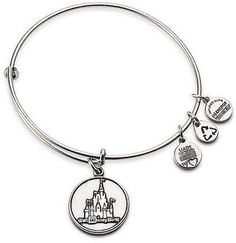 Walt Disney World Castle Charm Bracelet By Alex And Ani A Gift From My Princess