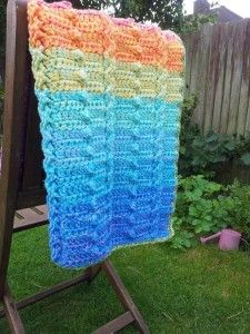 20130901 090010 225x300 Cable and Bobble Stitch Blanket (Lienkes Lovey)