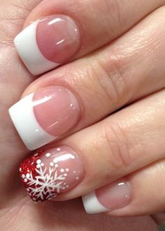 Easy Christmas Nail Art Designs for Short Nails – Snowflakes Loading. Easy Christmas Nail Art Designs for Short Nails – Snowflakes Diy Christmas Nail Art, Holiday Nail Art, Christmas Nail Art Designs, Christmas Crafts, Christmas Acrylic Nails, Christmas Wreaths, Red Christmas Nails, Reindeer Christmas, Snowman Crafts