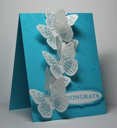 Vellum Butterflies   this card was inspired by ALL the beaut…   Flickr