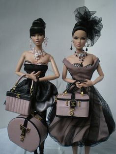 Friends of Barbie Luxe Life and Monaco Royale, Parker Posey Dolls. Barbie Style, Barbie I, Barbie World, Barbie And Ken, Barbie Clothes, Fashion Dolls, Fashion Royalty Dolls, Couture Fashion, Manequin