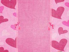 pinterest pink floral borders   ... Heart Flower Border Blue Jellys Smile Cards On Pinterest on Pinterest