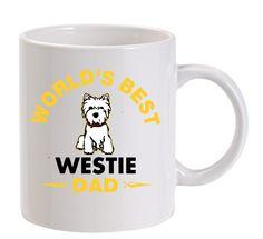 World's Best Westie Dad Mug - The Westies Shop