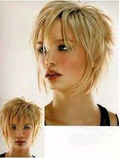 Modele de coupe de cheveux mi long dégradé   coupe cheveux ...