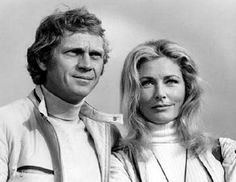 Steve McQueen, Elga Andersen   Le Mans   1971   as Michael Delaney