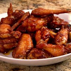 Easy Spicy Peach Hot Wings Recipe