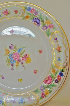 Dresden  Schuman ChinaDresden chinaset of by marionsvintagebakery, $30.00