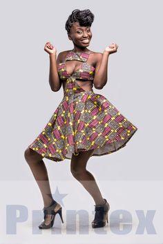 African prints by Printex. Made in Ghana. Designer: Deborah Vanessa