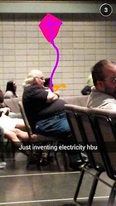 And this Snapchat for the inner history geek in all of us. | 29 Snapchats That Are Too Clever For Their Own Good