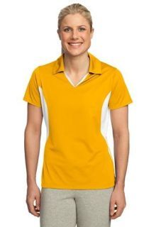 Sanmar | Sport-Tek® Ladies Side Blocked Micropique Sport-Wick® Polo. | Shirts | Anderson Uniform Co. Inc. | LST655