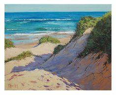 Playa de dunas de arena de Marina tradicionales pintura al