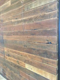 Rustic timber cladding