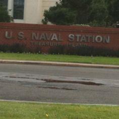 Former U.S. Naval Station Treasure Island, San Francisco, CA...where I lived as a child.