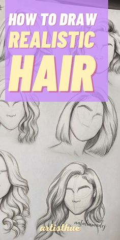 How to draw hair step by step in pencil for beginner | best pencil drawing tutorials for beginners #howtodraw #pencildrawing #hair #howtodrawhair Colorful Highlights In Brown Hair, Colored Highlights, Art Drawings Sketches Simple, Realistic Drawings, Hair Color Techniques, Shading Techniques, Art Techniques, Hair Color Streaks, Drawing Tutorials For Beginners