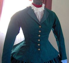 FOR ORDERS ONLY  Custom Made 1800s Victorian Dress by MissLisa1867