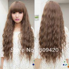 "Free Shipping>>> Fashion Sexy Curly Wave Wig Charming Brown Long Hair Women Cosplay Party New Wig     #http://www.jennisonbeautysupply.com/  #<script type=\\\""text/javascript\\\"">  amzn_assoc_placement = \\\""adunit0\\\"";  amzn_assoc_enable_interest_ads = \\\""true\\\"";  amzn_assoc_tracking_id = \\\""jennisonnunez-20\\\"";  amzn_assoc_ad_mode = \\\""auto\\\"";  amzn_assoc_ad_type = \\\""smart\\\"";  amzn_assoc_marketplace = \\\""amazon\\\"";  amzn_assoc_region = \\\""US\\\"";  amzn_assoc_linkid…"